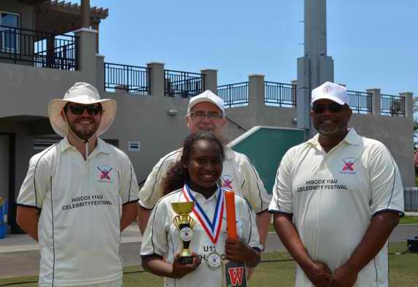 Cricket Bermuda June 11 2018 Christia Lugo-Elibox