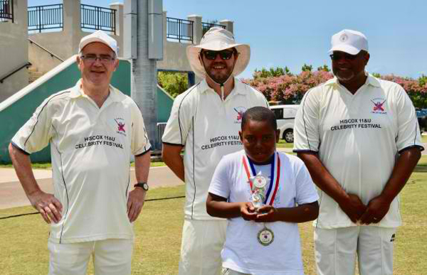 Cricket Bermuda June 11 2018 Dae'Jon Smith
