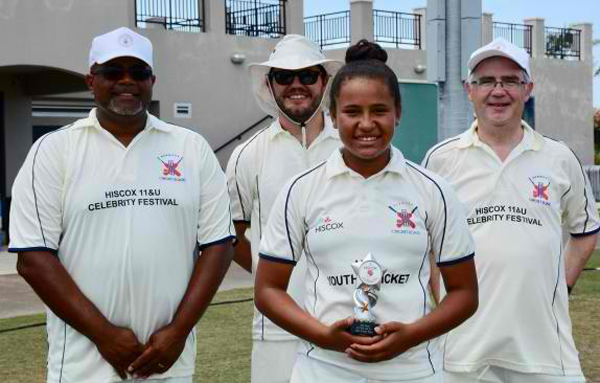 Cricket Bermuda June 11 2018 Sanaa Berkeley