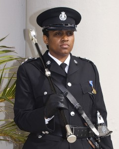 Detective Chief Inspector Na'imah Astwood Bermuda June 8 2018