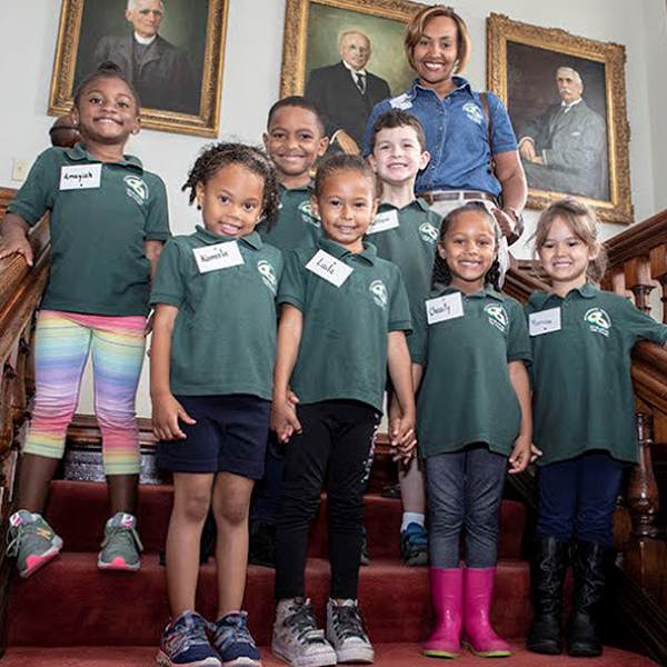 Devonshire Pre-School at House of Assembly Bermuda June 1 2018
