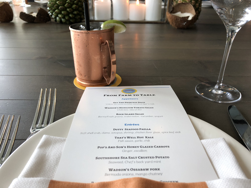 Farm to Table dinner Bermuda June 2018 (1)