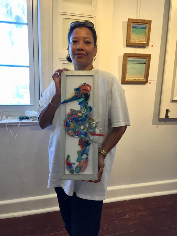 Melanie Whaley - Sammy the Seahorse Bermuda June 24 2018