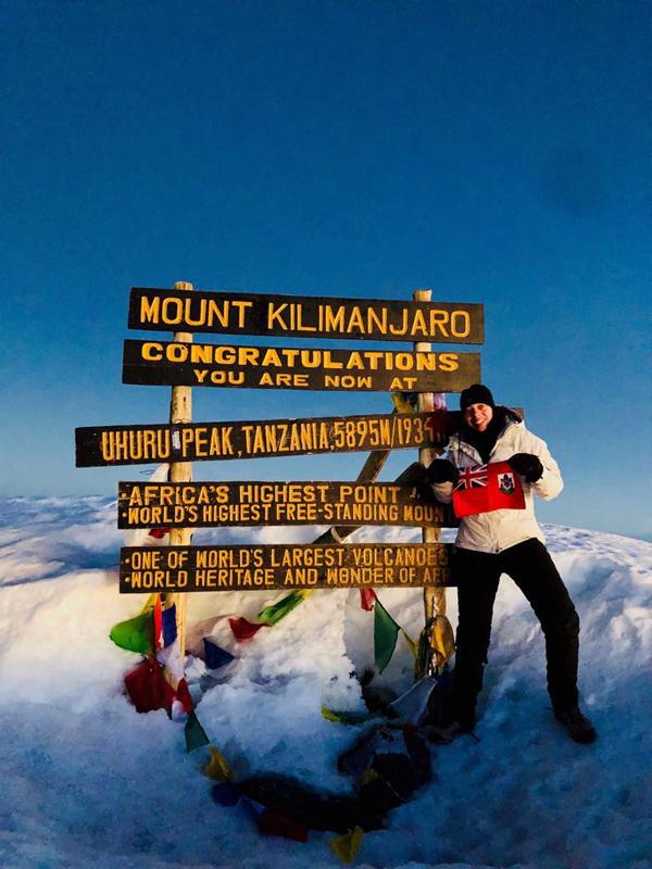 Mt Kilimanjaro Courtney Diamond Bermuda June 19 2018