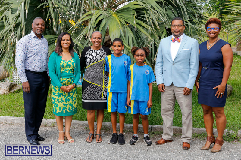 Pow Wow Native Drummers Visit St David's Primary School Bermuda, June 8 2018-9812
