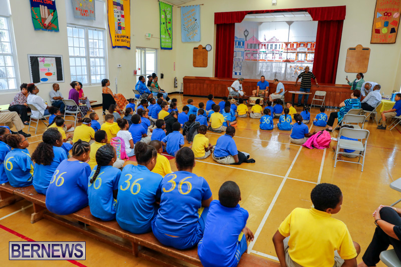 Pow Wow Native Drummers Visit St David's Primary School Bermuda, June 8 2018-9837