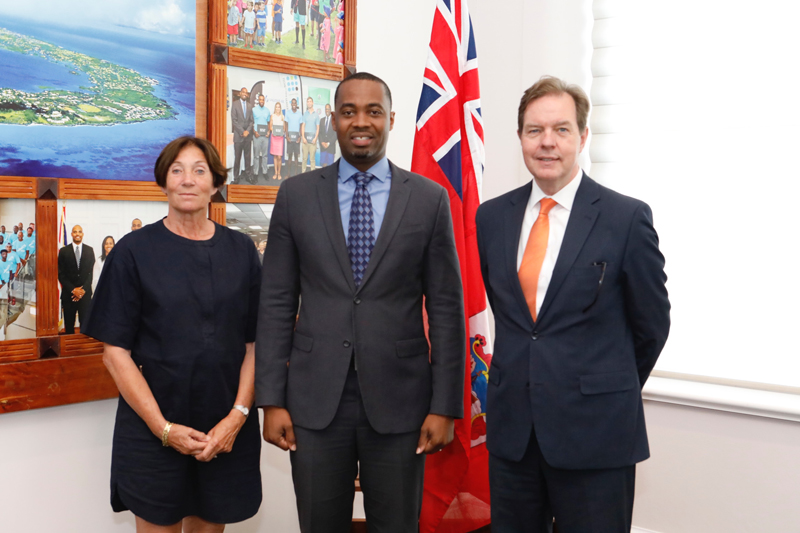 Premier Burt with Ambassador Smits and Honorary Consul June 2018 (1)