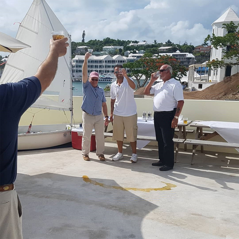 Roof Wetting and Sailing Accreditation at RHADC Bermuda June 2018 (1)