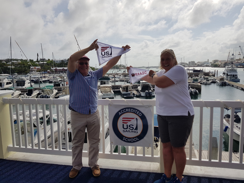 Roof Wetting and Sailing Accreditation at RHADC Bermuda June 2018 (2)