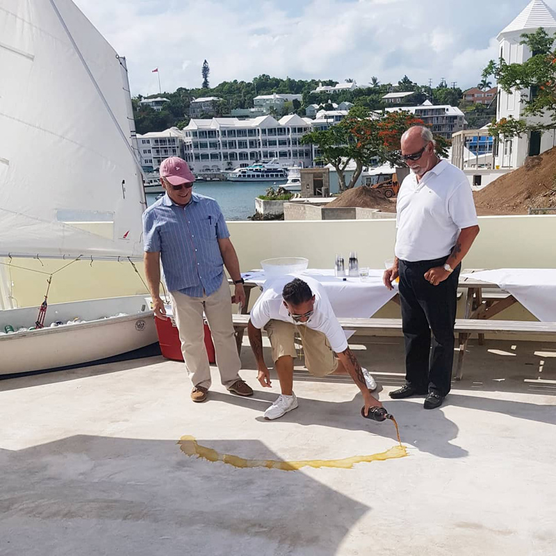 Roof Wetting and Sailing Accreditation at RHADC Bermuda June 2018 (3)
