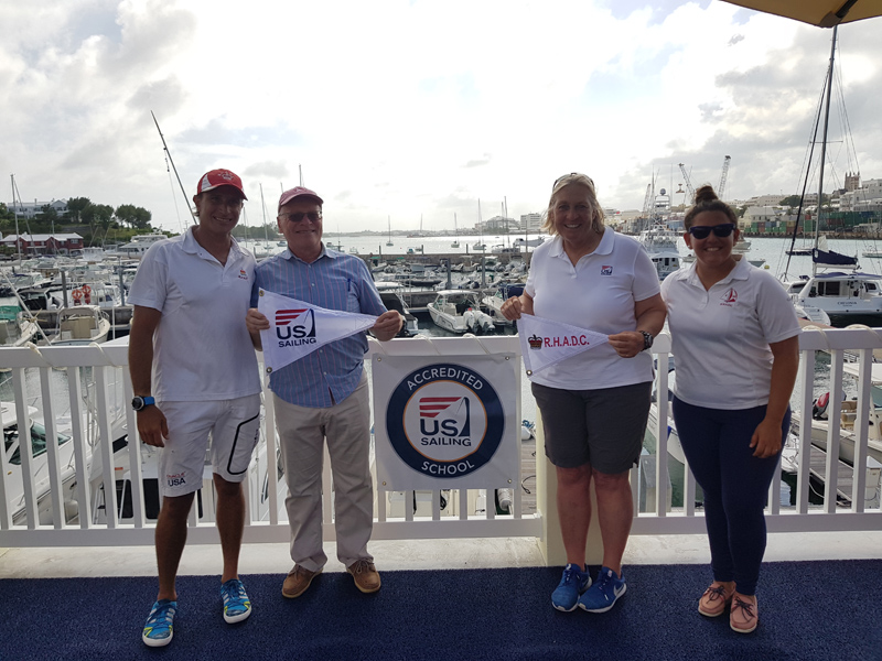 Roof Wetting and Sailing Accreditation at RHADC Bermuda June 2018 (4)