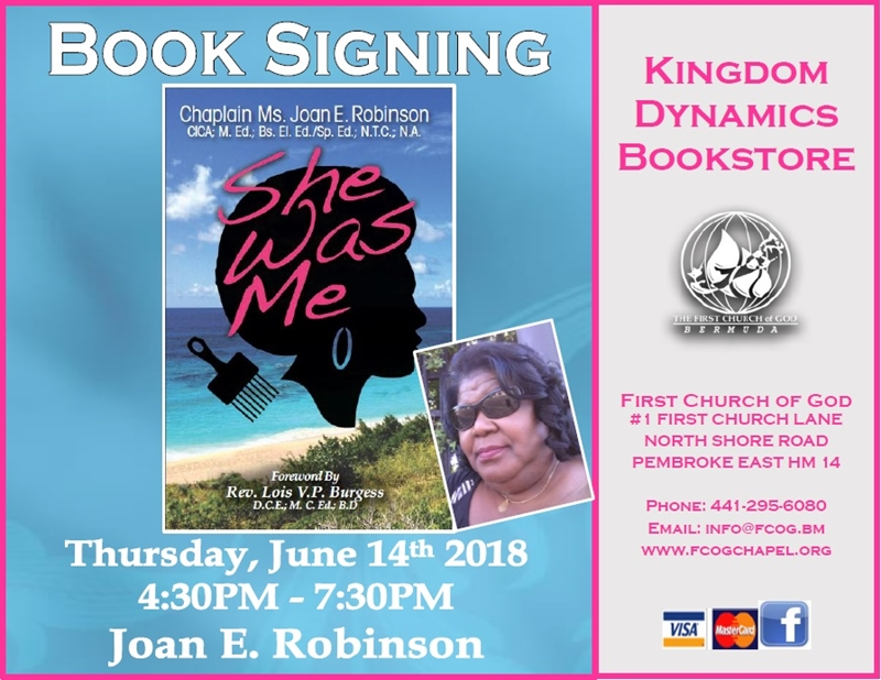 Triple Book Signing-She Was Me