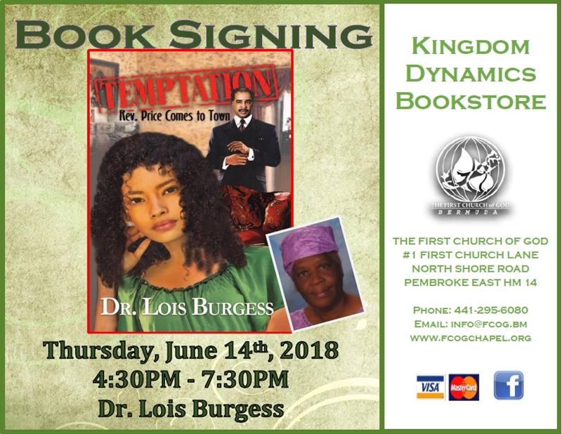 Triple Book Signing-Temptations