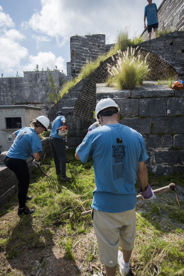 XLDOG2018 Casemates Cleanup Bermuda June 11 2018