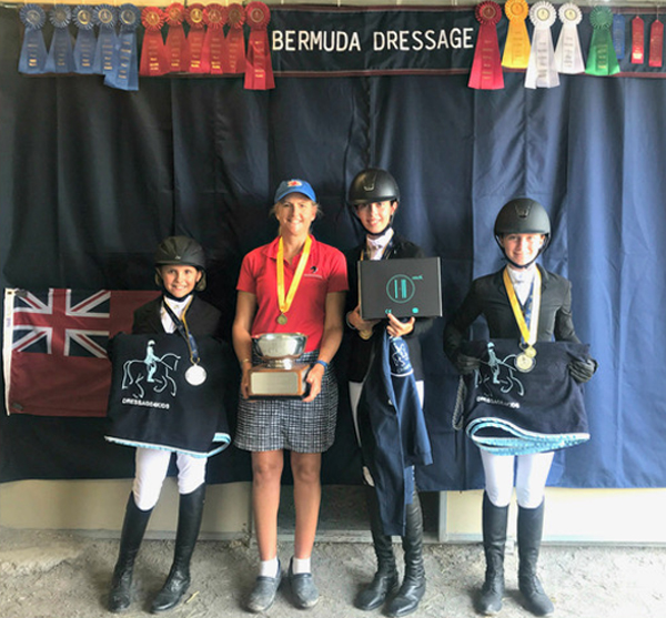 2018 Youth Dressage Festival Bermuda July 19 2018
