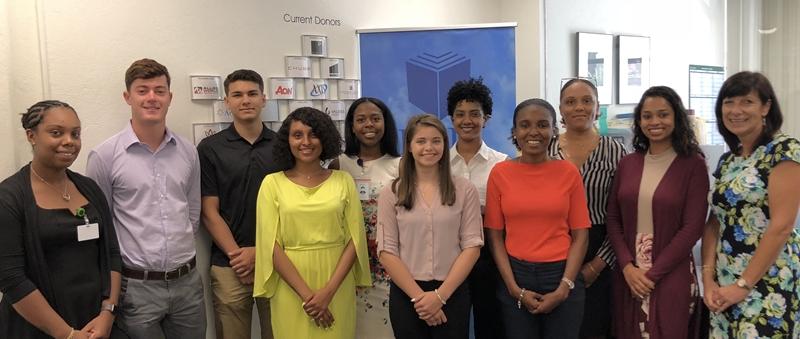 Atlanta and Chicago interns group