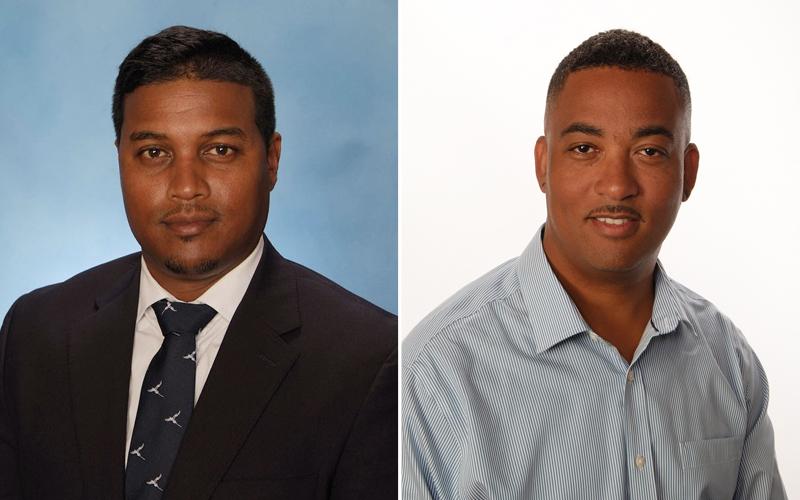 Azeem Khan and Antoine Lambert Bermuda July 2018
