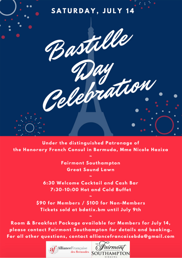 Bastille Day Bermuda July 2018