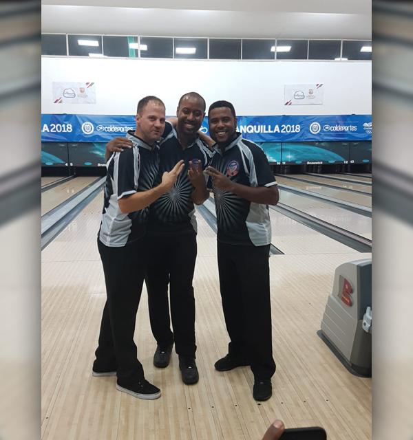 Bermuda Bowlers at CAC Games Columbia July 2018