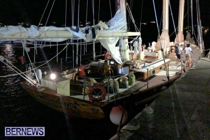 Boat Collision Hamilton Bermuda, July 6 2018 (2)