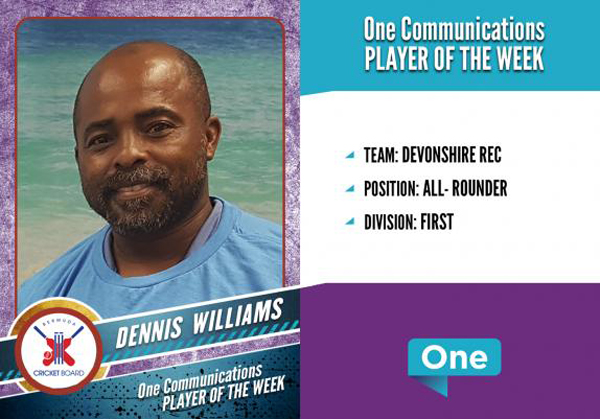 Dennis Williams Bermuda July 2018