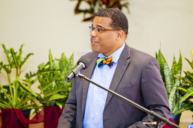 Education Minister Diallo Rabain Bermuda July 2018