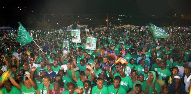 Grenada Election Rally