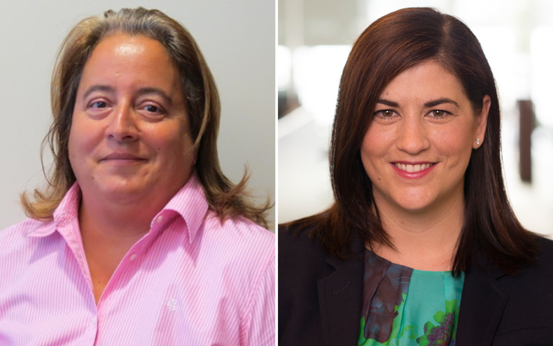Leila Madeiros and Michelle Seymour Smith Bermuda July 2018