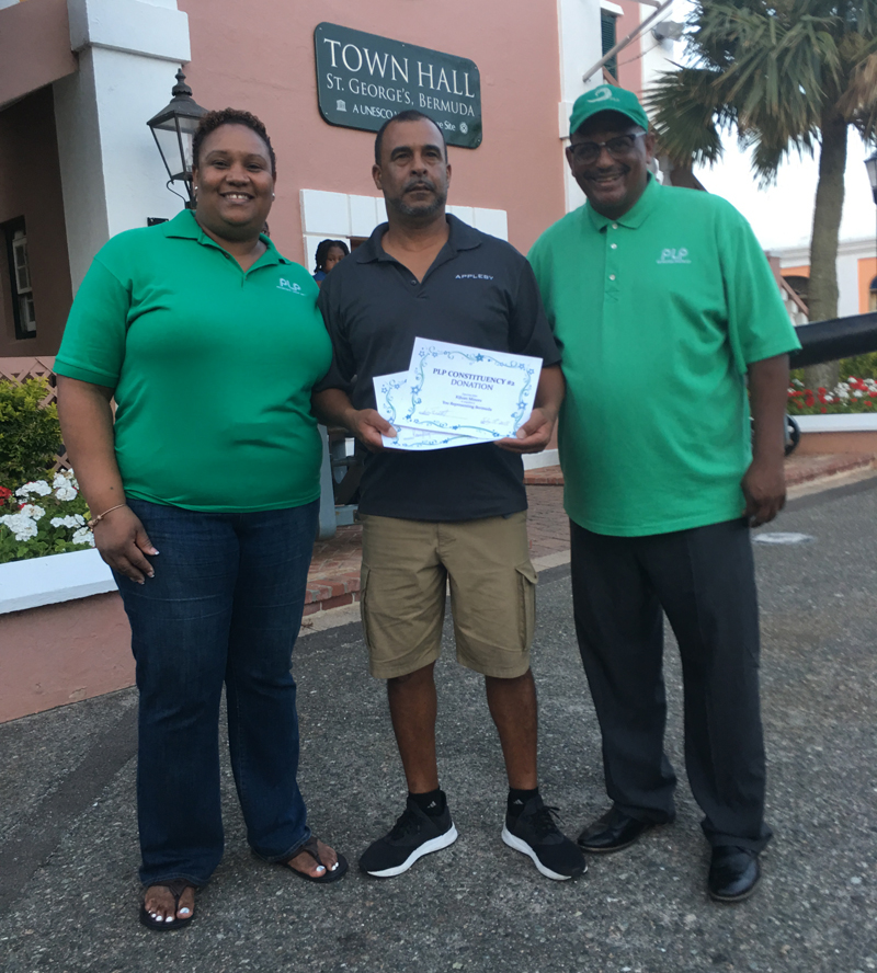 MP's Give Back Bermuda July 19 2018 1