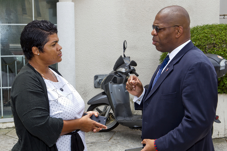 Minister Walter Roban Bermuda July 2018 (2)