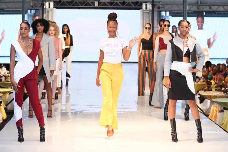 New York Fashion Week July 2018 Rochelle Nicole by Rochelle Minors