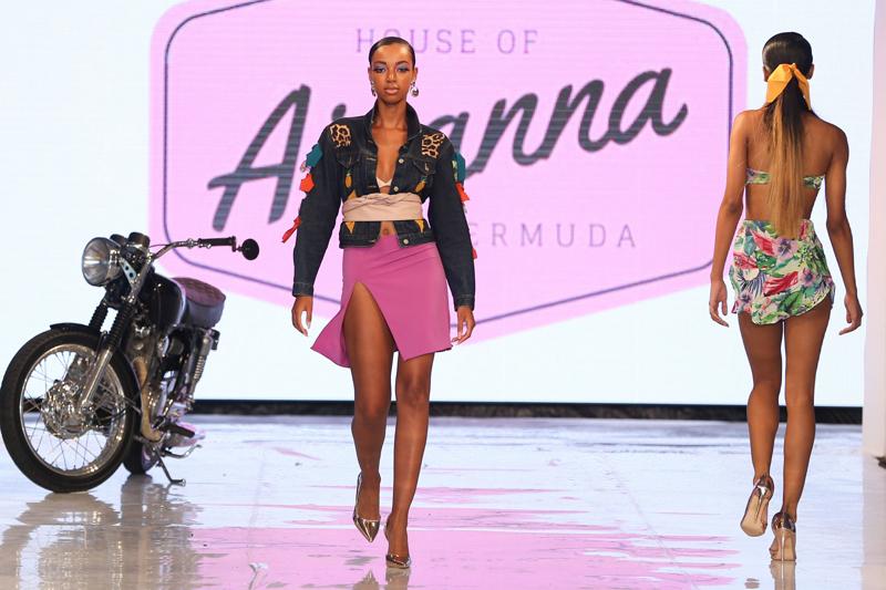 New York Fashion Week July 2018 Shantia Seymour - House of Aiyanna