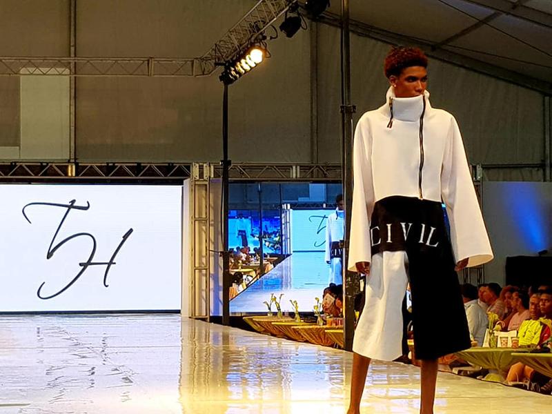 New York Fashion Week July 2018 Taijhuan Hollis 1