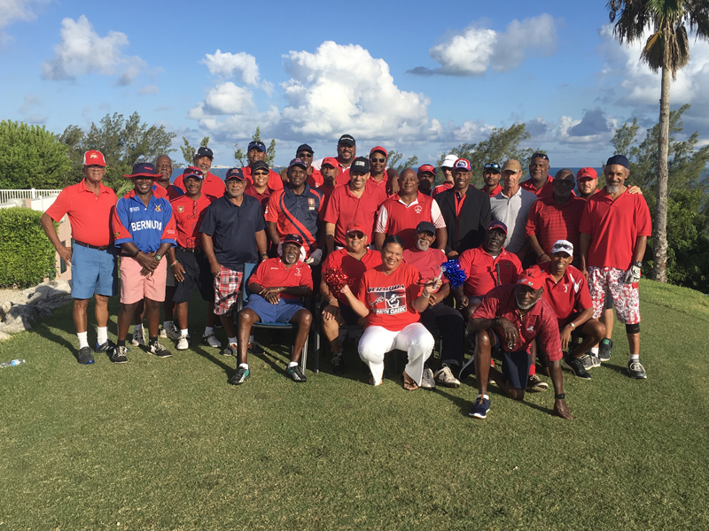 Ocean View Cup Match Golf Tournament Bermuda July 2018 (1)