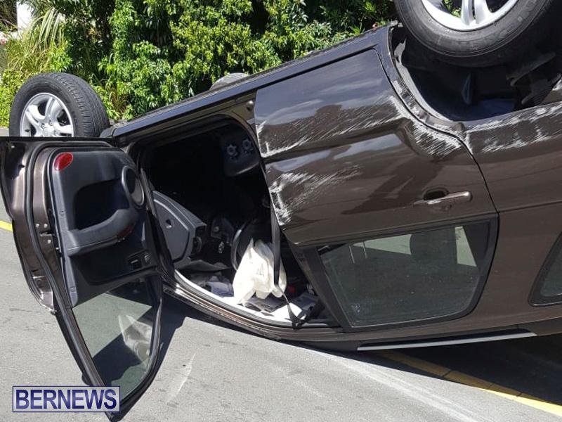 Overturned Car Bermuda, July 22 2018-2-5
