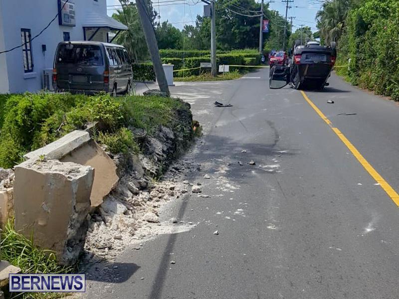 Overturned Car Bermuda, July 22 2018-2-6