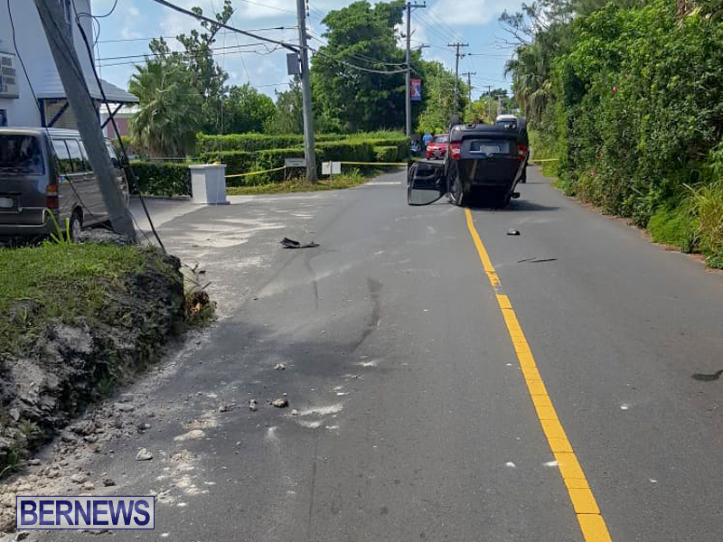 Overturned Car Bermuda, July 22 2018-2-7