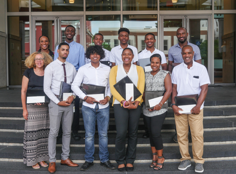 PHC Foundation Scholarship Award Winners Bermuda July 2018