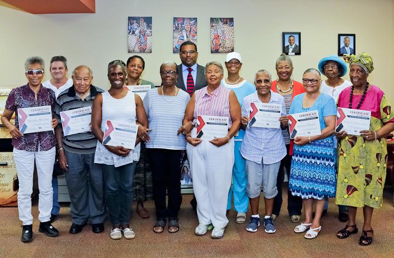Senior Writers Certificate Presentations Bermuda July 2018 (4)