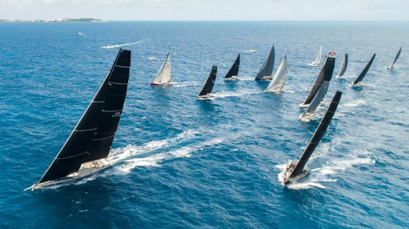 Start of the AAR fleet Bermuda July 2018
