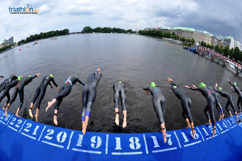World Triathlon Series July 2018