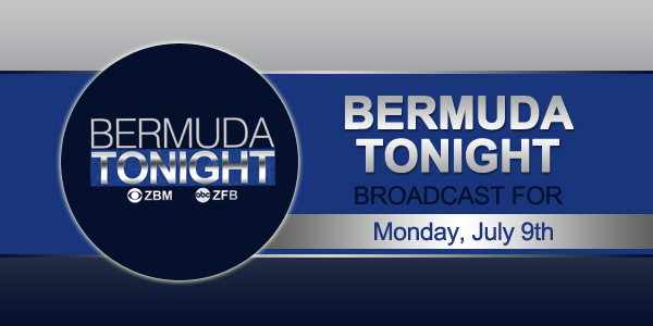 zbm 9 news Bermuda July 9 2018 TC
