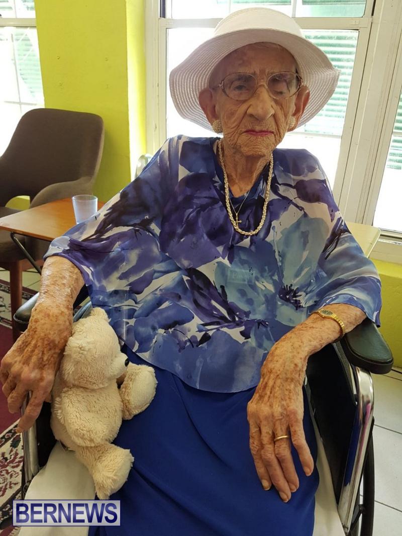 Angelina Bean 100th Birthday Bermuda, August 16 2018 (1)