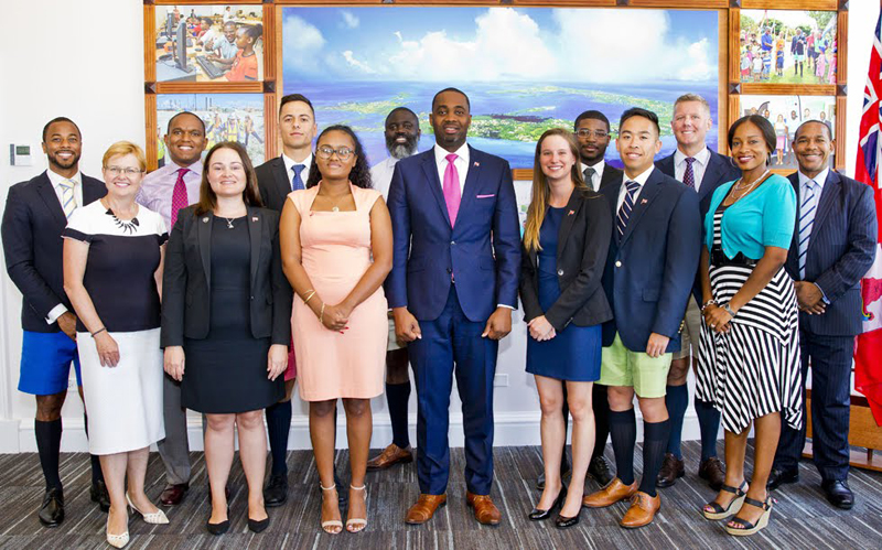 BDA interns Bermuda August 2018