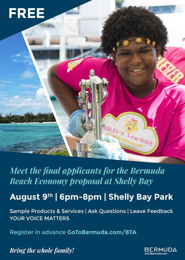 BTA Shelly Bay Bermuda August 2018