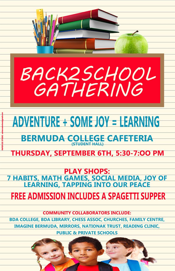 Back 2 School Gathering Bermuda August 2018