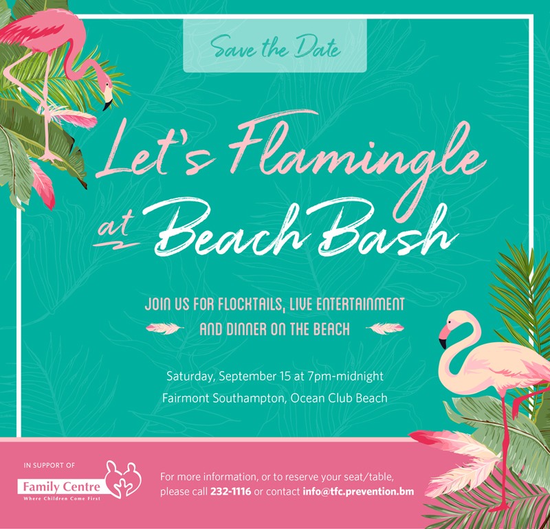 Beach Bash Bermuda August 2018