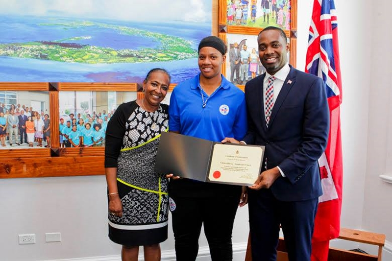 Bermuda Girls U-15 National Football Team certifications (10)