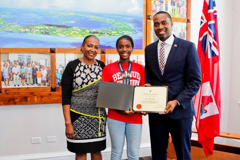Bermuda Girls U-15 National Football Team certifications (11)