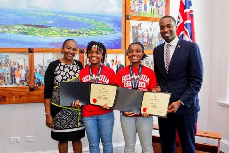 Bermuda Girls U-15 National Football Team certifications (16)